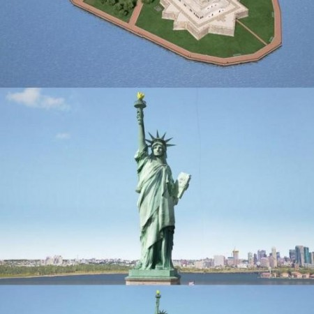 Turbosquid – Statue of Liberty model