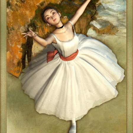 Degas Ballerina for Aiko