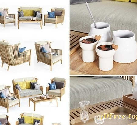 Sofa and Chair Outdoor