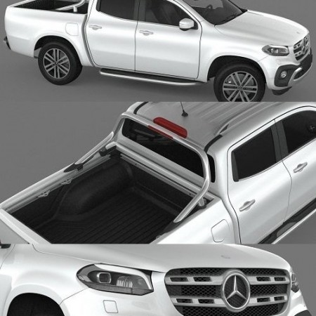 Mercedes Benz X Class Power 2018 3D model