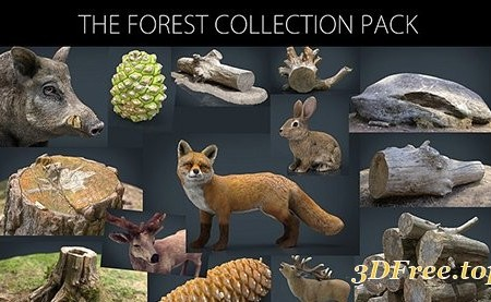 Cubebrush - The Forest Collection Pack
