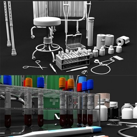 Cubebrush - 3D Medical Collection 1