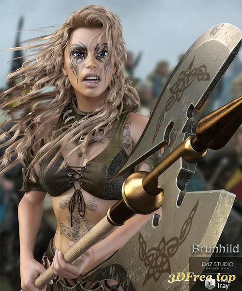 Daz3D - Brunhild for Genesis 8 Female