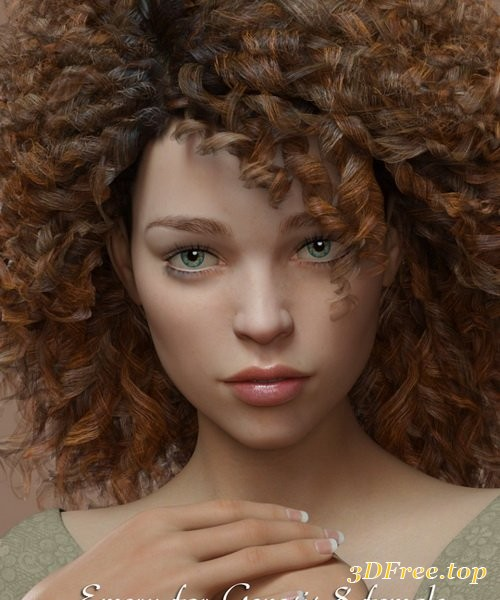 Daz3D - Emery for Genesis 8 Female