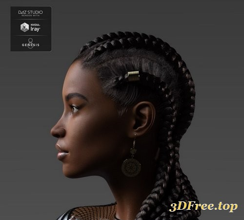 Daz3D - Shangrila for Genesis 3 and 8 Female