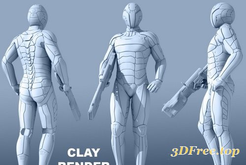 Daz3D - Leviathan Suit for Genesis 8 Male(s)