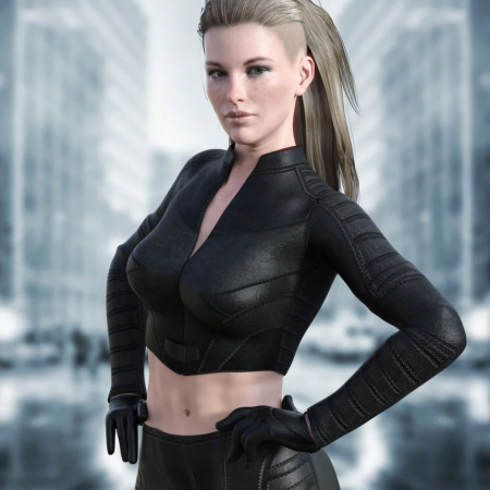 X-Fashion Justice Outfit for Genesis 8 Female(s)