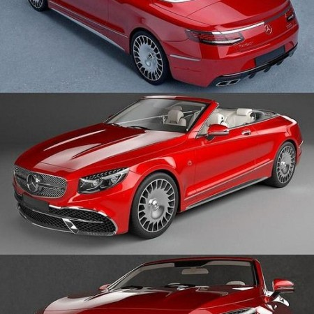 Mercedes Maybach Coupe Cabriolet 2020