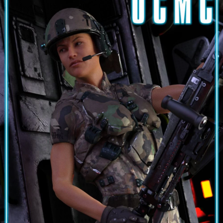 UCMC Add-on for ATLAS Armored Suit for Genesis 8 Female