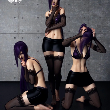 Sorrowed Soul Poses for Genesis 8 Female(s)