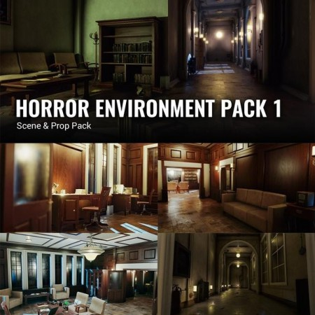 iClone Pack: Horror Environment Pack