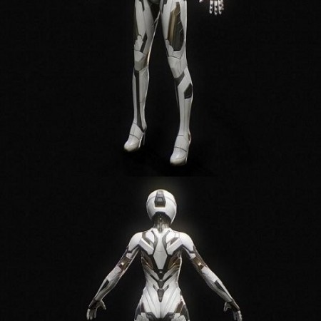 SciFi Female Suit