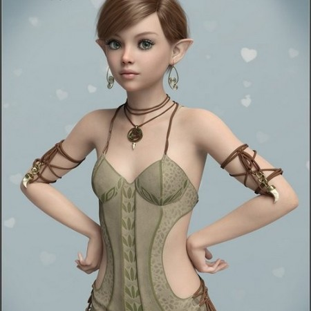 Daz3D - SASE Poppy for Genesis 8