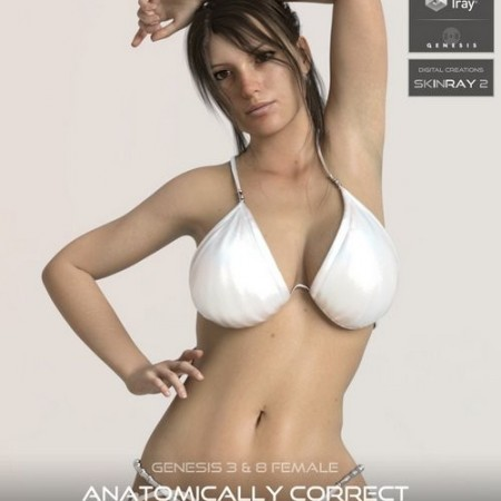 Daz3D - Anatomically Correct: Desiree for Genesis 3 and Genesis 8 Female