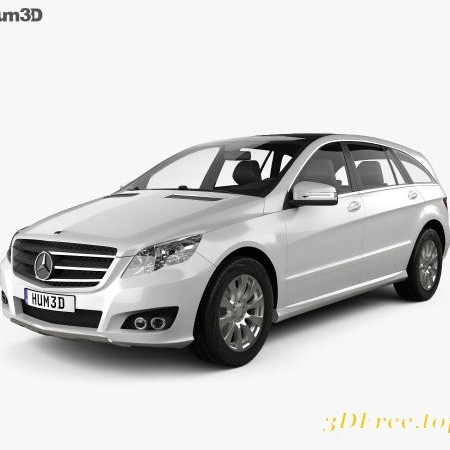 Mercedes-Benz R-Class 2011 3D model
