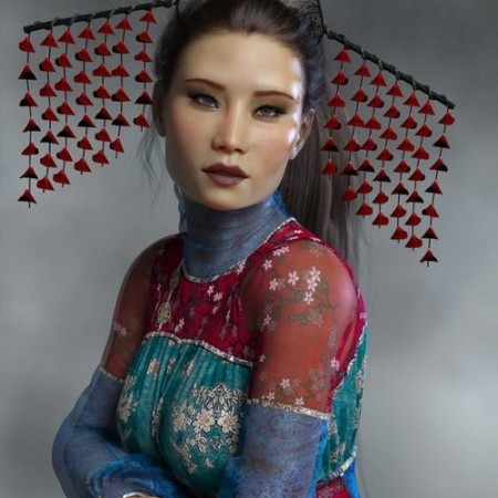 Daz3D - PS Onishi for Genesis 8 Female & Victoria 8