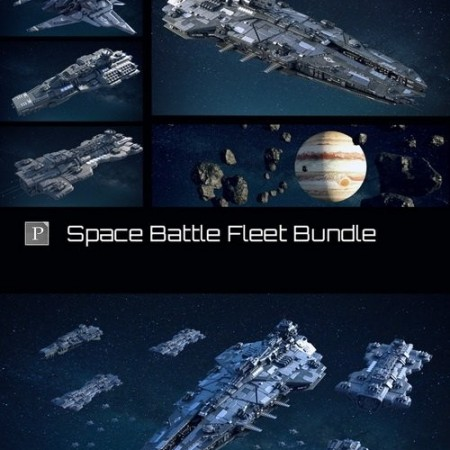 Daz3D - Space Battle Fleet Bundle