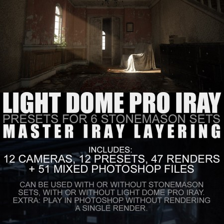 Light Dome PRO Iray   Render Presets   Master Iray Layering