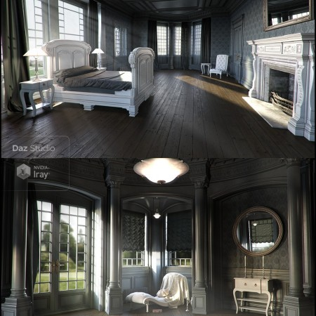 Neoclassical for Rural Chateau I   III