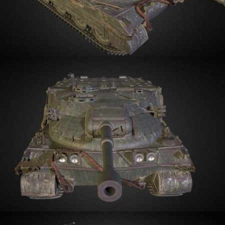 Excalibur Light Airborne Tank Destroyer 3D Model