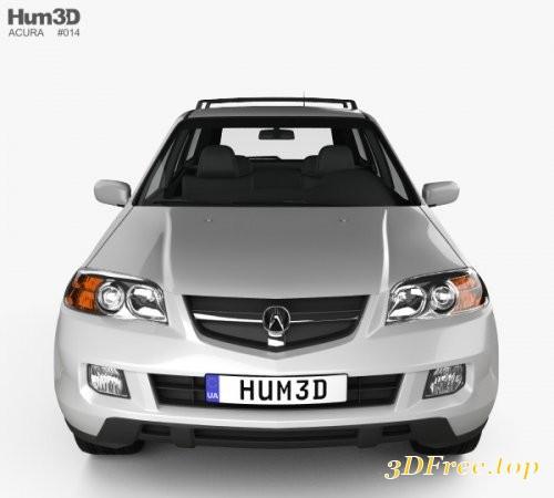GFX Acura MDX 2003 3D Model