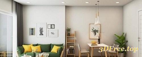 Gfx Sketchup Interior Scene By Jindo Dinho 3d Models Blog