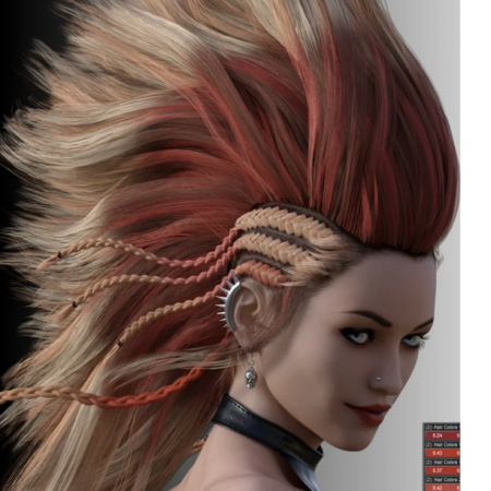 IDG Iray Selectable Hair Color Shader (update)