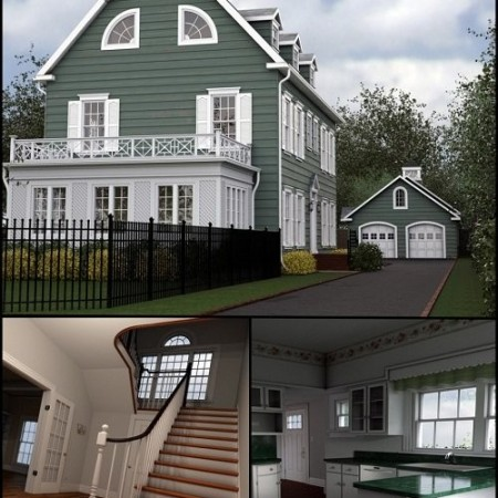 Collective3d Long Island Mansion