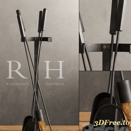 RH / INDUSTRIAL HEARTH TOOL SET