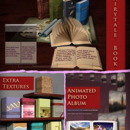 Daz3D - The Fairytale Book Bundle