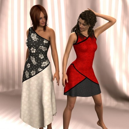 MeriMay Dress Designer Three