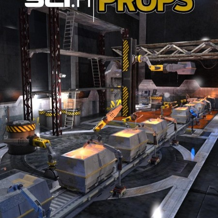 Industrial Sci-fi Construction Kit