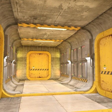 Sci-fi Containment Station Floor