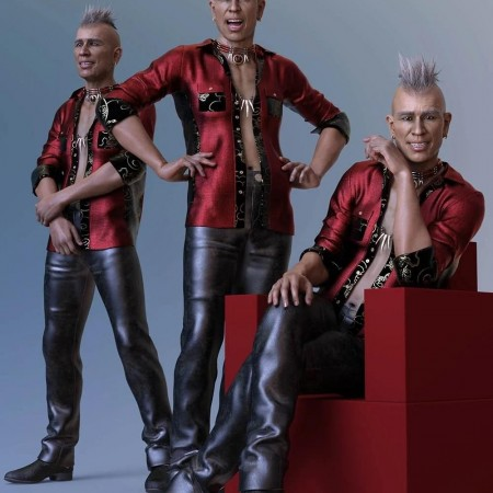 CDI Poses for Dasan 8 and Genesis 8 Male