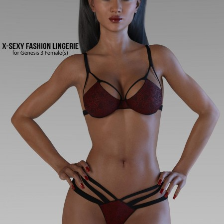 X-Sexy Fashion Lingerie for Genesis 3 Female(s)