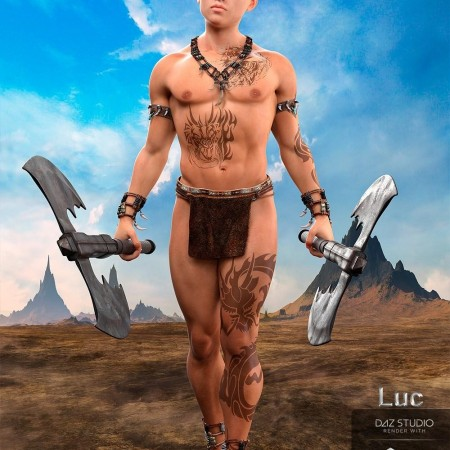 Luc for Genesis 8 Male