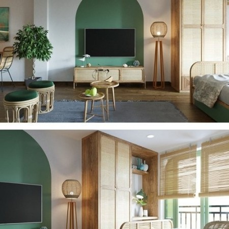 3D Interior Apartment Scene By NguyenKien