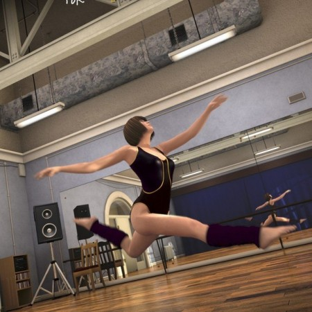 Dance Studio Add-On (DAZ Studio)