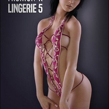 Lacey for Fashion-X Lingerie 5 by xtrart-3d