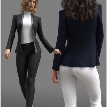 Daz3D - dForce Trend Outfit for Genesis 8 Female(s)