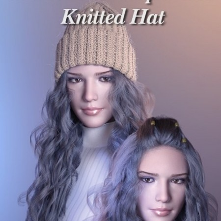 Daz3D - dForce Hair Helper and Knitted Hat
