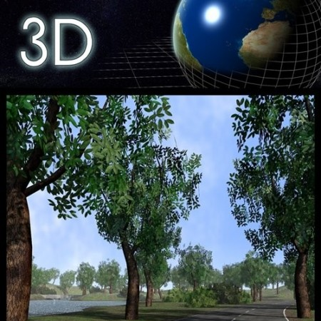 Daz3D - Road and track scenery