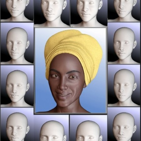 People of Earth: Faces of Africa Genesis 8 Female