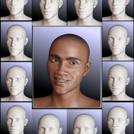 People of Earth: Faces of Africa Genesis 8 Male