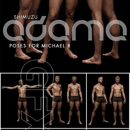 Shimuzu's Adama Poses for Michael 8