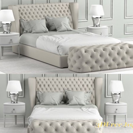 Bed Heritage Collection Four Seasons