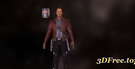 Star lord (Standing pose)