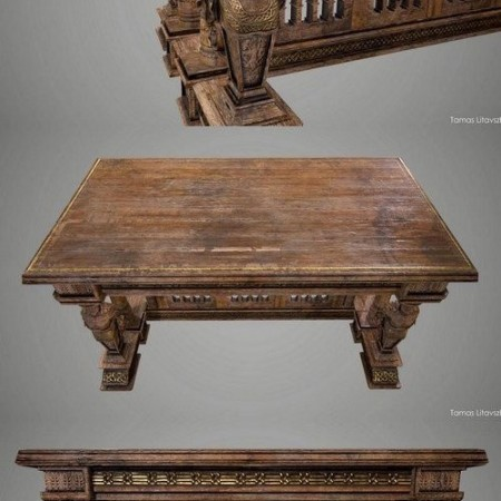 Old Table – 3D Model