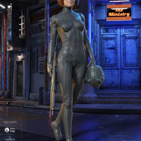 Mercury Ranger for Genesis 8 Female(s)