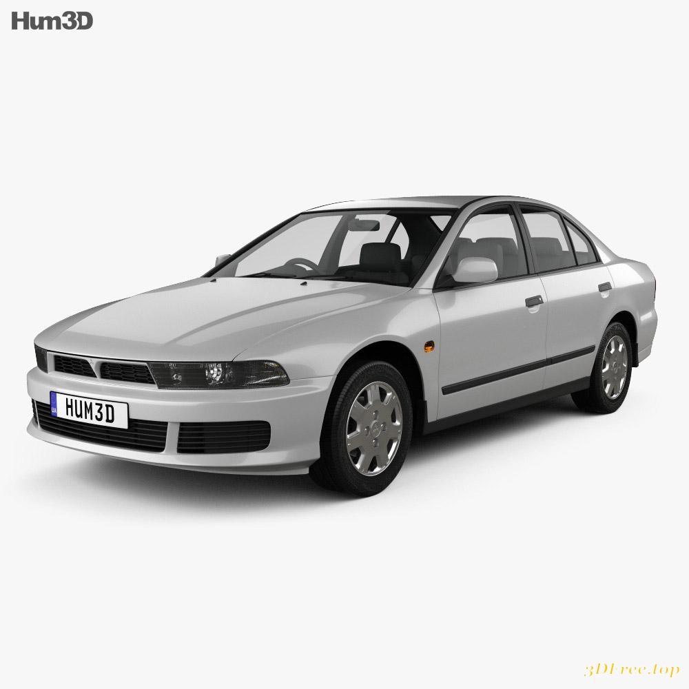 mitsubishi galant sedan 1996 3d model 3d models blog mitsubishi galant sedan 1996 3d model